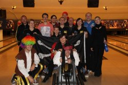 Piratenturnier in Kassel mit den Roma Bowlers