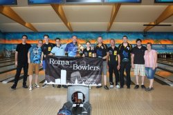 Roma Bowlers bei den 6. Track Dream-Bowl Palace Open